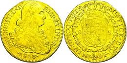 8 Escudos, Gold, 1813, Ferdinand VII., JF, Santa Fe De Nuevo Reino, Fb. 60, Ss.  Ss - Colombia