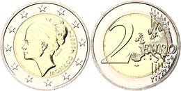 2 Euro, 2007, Grace Patricia Kelly Zum 25. Todestag, KM 186, In Kapsel, In Originalschatulle Mit Umverpackung, Vz-st.  V - Monaco