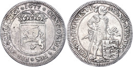 Westfriesland, Ducaton, 1677, Dav. 4910, Ss-vz.  Ss-vz - Paesi Bassi