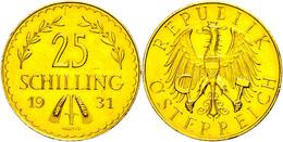 25 Schilling, Gold, 1931, Fb. 521, Vz.  Vz - Austria