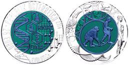 25 Euro 2014, Silber/Niob, Evolution, In Kapsel Ohne Etui Und Zertifikat, Handgehoben, St.  St - Austria