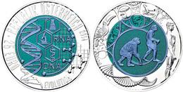 25 Euro 2014, Silber/Niob, Evolution, In Kapsel Und Etui Mit Zertifikat, Handgehoben, St.  St - Austria