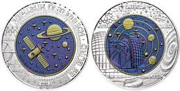 25 Euro 2015, Silber/Niob, Kosmologie, In Kapsel, Ohne Etui Und Zertifikat, Handgehoben, St.  St - Austria