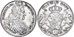 Riksdaler, 1727, Friedrich I., Dav. 1720, Avers Min. Berieben, F. Vz. - Schweden