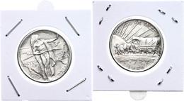 1/2 Dollar, 1926, O. Mzz, Philadelphia, Oregon Trail Memorial, KM 159, Vz.  Vz - United States