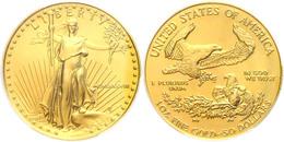50 Dollars, Gold, 1988,, Fb. B1, In Slab Der PCGS Mit Der Bewertung MS69. - United States