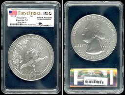 5 Unzen Silber, 2015, P, Kisatchie, In Slab Der PCGS Mit Der Bewertung SP70, First Strike, Mercanti-Flag Label. - United States