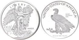1 Unze Silber, 2016, National Park Foundation, In Slab Der NGC Mit Der Bewertung PF70 Ultra Cameo, Saint Gaudens Label.  - United States