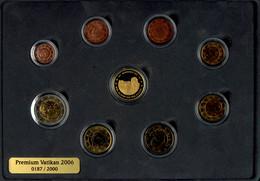 1 Cent Bis 2 Euro, 2006, Euro KMS Mit Goldmedaille, 6,3 G Fein, 999er Gold, Papst Benedikt XVI., Alle Münzen Und Medaill - Vatican