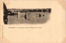 CPA Roanne- Le Pont Du Chemin De Fer Sur La Loire FRANCE (907397) - Roanne