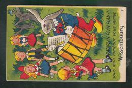 CP - 67 - Sous Mon Tambour Vous Verrez ... Wissembourg - Carte à Système Petit Dépliant - Wissembourg