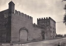 CARTOLINA - ALESSANDRIA - CASTELLO DI MARENGO - VIAGGIATA PER ALASSIO ( SAVONA) - Alessandria