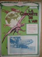 LA CONQUETE DE L'AIR 1932 N°10 - R.W.D. 6 - HEINKEL 64 - KLEMM ARGUS - P.Z. L. 19 - SABENA AU CONGO-STAMPE-VERTONGEN III - AeroAirplanes