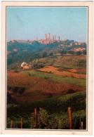 S.Gimignano (Si). Panorama Delle Torri. VG. - Siena