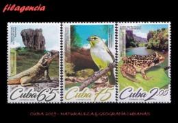 AMERICA. CUBA MINT. 2019 NATURALEZA & GEOGRAFÌA CUBANAS. FAUNA - Cuba