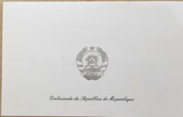 Invitation Ambassade De La République Du Mozambique. - Autres Collections