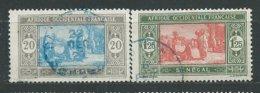 SENEGAL N° 102+107A OB TB 1 - Used Stamps