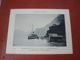 Phototypie Paysages Suisses Suisse  Circa 1900 TELLSPLATTE LAC DES 4 CANTONS LE DEBARCADERE  VIERWALDSTATTERSEE LANDUNGS - Fotos