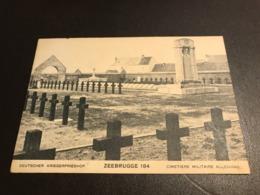 Zeebrugge - Deutscher Kriegerfriedhof 184 Cimetière Militaire Allemand - Photo Kerling - Zeebrugge