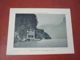Phototypie Paysages Suisses Suisse  Circa 1900 TELLSPLATTE La Chapelle Du Tell - Fotos