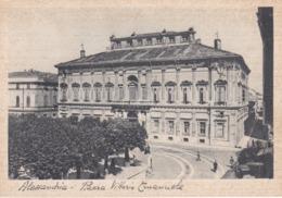CARTOLINA - ALESSANDRIA - PIAZZA VITTORIO EMANUELE - Alessandria