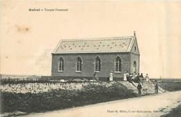 80* ONIVAL  Temple Protestant                     MA97,0035 - Bois-de-Cise