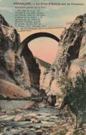 Carte Postale Ancienne Des Hautes-Alpes - Briançon - Le Pont D'Asfeld Sur La Durance - Briancon