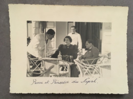 PHOTOGRAPHIE ALPES MARITIMES CANNES DU PHOTOGRAPHE J.FENEYROL PERSONALITES DIVERSES DU CARLTON - Personnes Identifiées