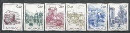 MONACO ANNEE 1991 N° 1762 A 1767 NEUFS** NMH - Monaco