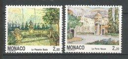 MONACO ANNEE 1992 N° 1832 1833 NEUFS** NMH - Monaco