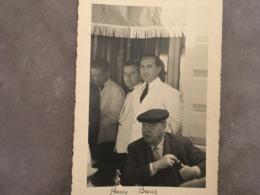 PHOTOGRAPHIE ALPES MARITIMES CANNES DU PHOTOGRAPHE J.FENEYROL PERSONALITES DIVERSES DU CARLTON - Identified Persons