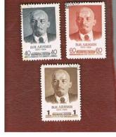 URSS - SG 2191.2193  - 1958  LENIN ANNIVERSARY  (COMPLET SET OF 3) - USED° - 1923-1991 URSS