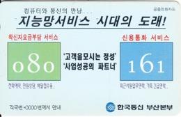 SOUTH KOREA - Korean Text 080 161(W3000), 05/96, Used - Corée Du Sud