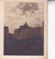 EVORA PORTUGAL  Ambiance De Rue Tombée Du Jour Photo Amateur 1932 Format Environ 7,5 Cm Sur 5,5 Cm - Lugares