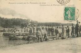 84* AVIGNON  Militaria GENIE  Pont Bateaux                  MA97,0606 - Avignon