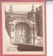 TOMAR PORTUGAL Couvent Du Christ 1932 THOMAR Photo Amateur Format Environ 7,5 Cm X 5,5 Cm - Lugares