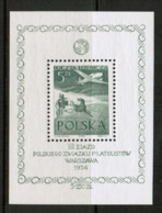 POLAND   Scott # C 34** VF MINT NH Souvenir Sheet (SS-478) - Blocks & Sheetlets & Panes
