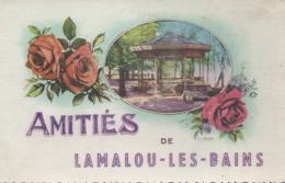 Amities De Lamalou Les Bains Kiosque Cartes Apa Poux Roses - Lamalou Les Bains