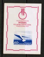 POLAND   Scott # CB 1a* VF MINT LH Souvenir Sheet (SS-479) - Blocks & Sheetlets & Panes