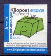 Belgie - OBP - 2007 - ** Kilopost - Ki 22 - Links Ongetand ** - Bélgica