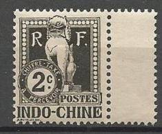 INDOCHINE TAXE  N° 5 NEUF*  Trace De CHARNIERE TB  / MH / - Timbres-taxe