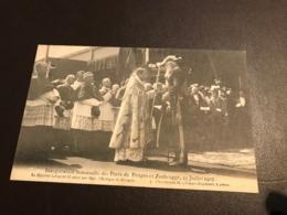 Zeebrugge - Inauguration Solennelle Des Ports De Bruges Et Zeebrugge - Leopold II  - Phototypie H. Climan-Ruyssers - Zeebrugge