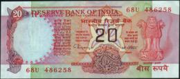 INDIA - 20 Rupees Nd.(1970-2002) {sign. C.Rangarajan} AU-UNC P.82 I - India