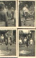 Promesse Louveteau Du PRINCE ALBERT (1943) – Lot De 4 Photos (RARE) - Scoutisme