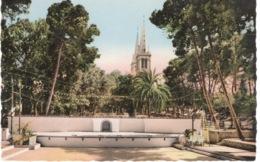 ALGERIE - AÏN TEMOUCHENT LEJARDIN PUBLIC ET LE THEATRE EN PLEIN AIR - Autres Villes