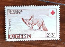 ALGERIE, Canidés, Canidé, Fennec, Yvert 343. MNH, ** - Francobolli