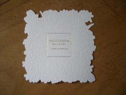 Carte Bulgari Splendida - Perfume Cards