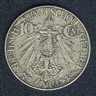 China - Deutsch Kiautschou, 10 Cents 1909 - Kiao Chau
