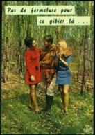 """CARTE FANTAISIE. HUMOUR. SÉRIE CHASSE """" Pas De Fermeture Pour Ce Gibier Là...."""". Valloire H 807 - Humor"""