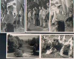 MARCHIN « Collège PRINCE Baudouin – Château De Fourneau » - Lot De 13 Photos Inédites (RARE) - Scoutisme